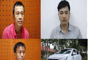 Nhóm đối tượng dùng ô tô đi trộm liên tỉnh