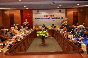 Hà Nội : Hội thảo 'Nữ giới Phật giáo với lĩnh vực báo chí'