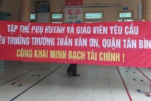 Hiệu trưởng trường Trần Văn Ơn tiếp tục bị đình chỉ công tác