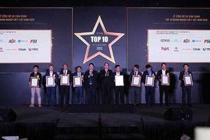 Vinh danh Top 10 doanh nghiệp công nghệ thông tin Việt Nam 2020