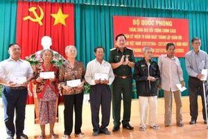 Các hoạt động kỷ niệm 76 năm Ngày thành lập Quân đội nhân dân Việt Nam