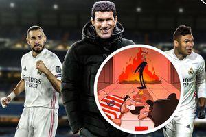 Atletico lại 'tắt điện' trước Real, Zidane thoát hiểm ngoạn mục