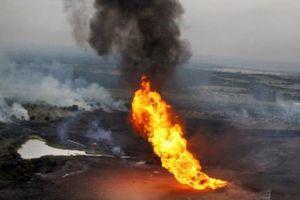 Vỡ đường ống dẫn dầu gây hỏa hoạn ở khu vực Tây Nam Iran