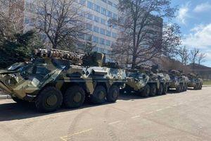 Vệ binh quốc gia Ukraine nhận lô thiết giáp BTR-4E cực mạnh