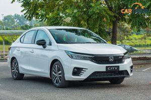 Cận cảnh xe Honda City 2021 phiên bản RS, lột xác để chiều lòng khách hàng Việt