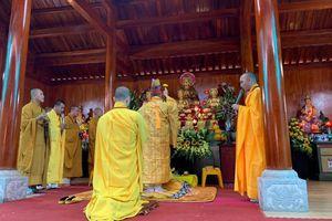 Lễ lạc thành, an vị tượng Phật chùa Bát Nhã