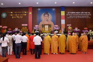 TP.HCM : Trang nghiêm tưởng niệm Đức Phật hoàng Trần Nhân Tông