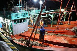 Bắt quả tang 2 tàu sang mạn dầu trái phép trên biển Tây Nam