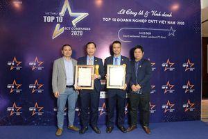 EFY Việt Nam lọt Top 10 doanh nghiệp công nghệ thông tin 2020