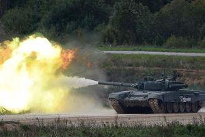 Cỗ tăng quái thú của Nga mang tên T-90