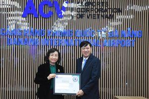 Cảng hàng không quốc tế Đà Nẵng đạt kiểm chuẩn y tế sân bay