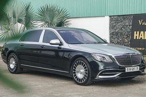 Mercedes-Maybach S560 4 Matic 'màu độc' hơn 11 tỷ về Việt Nam