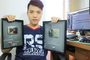 Kênh YouTube của NTN đạt top 3 lượt đăng kí tại Việt Nam