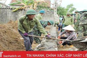 Cựu chiến binh Lộc Hà góp 120 ngàn ngày công xây dựng nông thôn mới