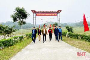 Vũ Quang 'tăng tốc' cho mục tiêu huyện nông thôn mới trong năm 2020