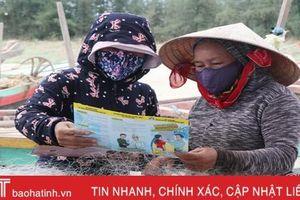 Người dân vùng biển Hà Tĩnh hưởng lợi từ đề án kiểm soát dân số