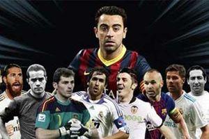 10 cầu thủ vĩ đại nhất lịch sử bóng đá Tây Ban Nha