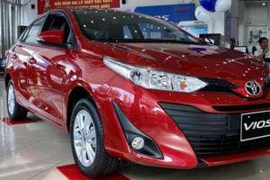 Giá lăn bánh 'vua doanh số' Toyota Vios mới nhất