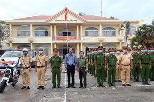 Châu Phú ra quân tấn công trấn áp tội phạm, bảo đảm an ninh trật tự