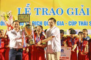 TP.HCM 1 vô địch Giải VĐQG nữ