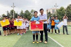 Giải bóng đá Hội khỏe Phù Đổng H.Long Thành: Đội Trường THCS Tân Hiệp giành giải nhất