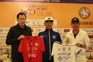 Tái hiện trận derby CLB Công an Hà Nội và CLB Quân đội: Mở ra trang lịch sử mới