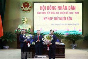Thủ tướng Chính phủ phê chuẩn nhân sự UBND 3 tỉnh
