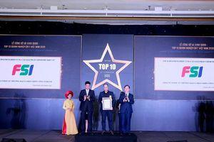 FSI thắng lớn trong 'Top 10 Doanh nghiệp CNTT Việt Nam năm 2020'