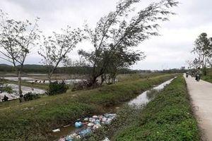Quảng Ngãi: Nhếch nhác kênh Thạch Nham