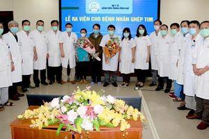 Bệnh nhân ghép tim xuyên Việt tại Huế xuất viện