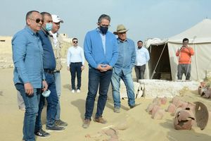 Tiết lộ khám phá khảo cổ hấp dẫn ở Saqqara được công bố đầu năm 2021