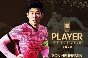 Son Heung-min đi vào lịch sử bóng đá Hàn Quốc