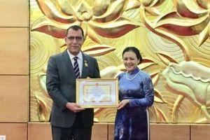 Đại sứ Chile: 'Tôi sẽ truyền lại người kế nhiệm tất cả tình cảm tốt đẹp dành cho Việt Nam'