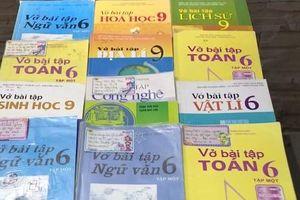 Hà Nam: Điều tra cá nhân, đơn vị đưa SGK, sách bài tập giả vào trường học
