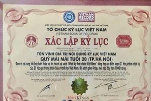 Công bố 2 kỷ lục quốc gia, tôn vinh bộ sách 'Nhật ký thời chiến Việt Nam'