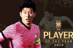 Heung-min Son năm thứ 5 nhận danh hiệu xuất sắc nhất Hàn Quốc