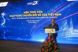 Internet là công cụ để hiện thực hóa khát vọng chuyển số Việt Nam