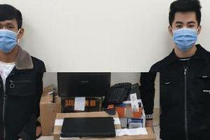 Bắt 2 thanh niên hack facebook lừa đảo, chiếm đoạt hơn 500 triệu đồng