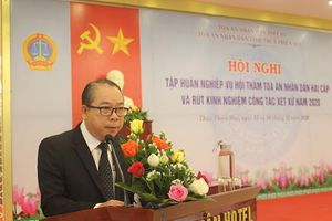 TAND tỉnh TT-Huế: Hội nghị tập huấn nghiệp vụ cho Thẩm phán và Hội thẩm TAND hai cấp
