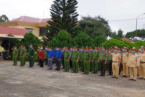 Đắk Nông: Công an huyện Đắk Song tổ chức lễ ra quân đợt cao điểm tấn công trấn áp tội phạm
