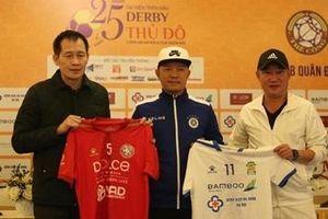 Tái hiện trận derby huyền thoại của 2 đội bóng một thời lừng danh Thủ đô