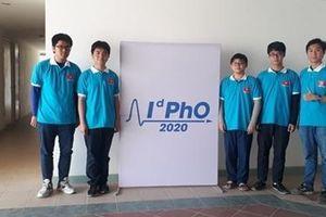 Việt Nam giành 5 Huy chương tại Kỳ thi Olympic Vật lý quốc tế 2020