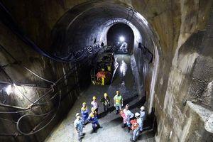 Thông hầm dự án mở rộng Nhà máy Thủy điện Đa Nhim