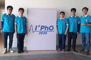 Học sinh Việt Nam xuất sắc giành 5 huy chương tại Olympic Vật lý quốc tế