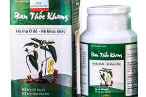 Sản phẩm TPBVSK Ban thốc khang vi phạm quảng cáo