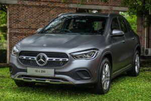 Chi tiết Mercedes-Benz GLA 2021 vừa được ra mắt tại Malaysia