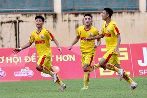 Tuyển thủ U19 Việt Nam tỏa sáng đưa U21 SLNA vào chung kết