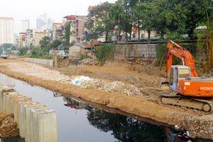 Dự án cải thiện hệ thống tiêu thoát nước khu vực phía Tây Hà Nội: Đẩy nhanh tiến độ giải phóng mặt bằng