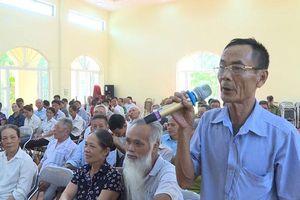 Điều chỉnh lịch tiếp xúc cử tri tại quận Thanh Xuân và quận Hai Bà Trưng