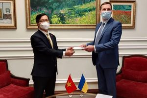 Ukraine đánh giá cao quan hệ hữu nghị hợp tác với Việt Nam